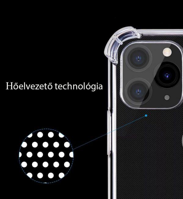 IPhone 11/12 minőségi szilikontok hőelvezetés