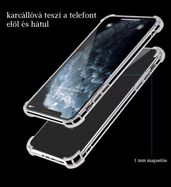 IPhone 11/12 minőségi szilikontok karcvédelem
