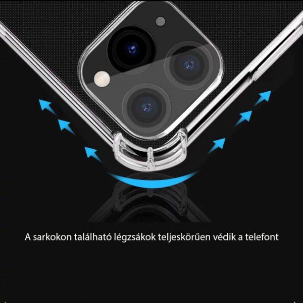 IPhone 11/12 minőségi szilikontok légzsák